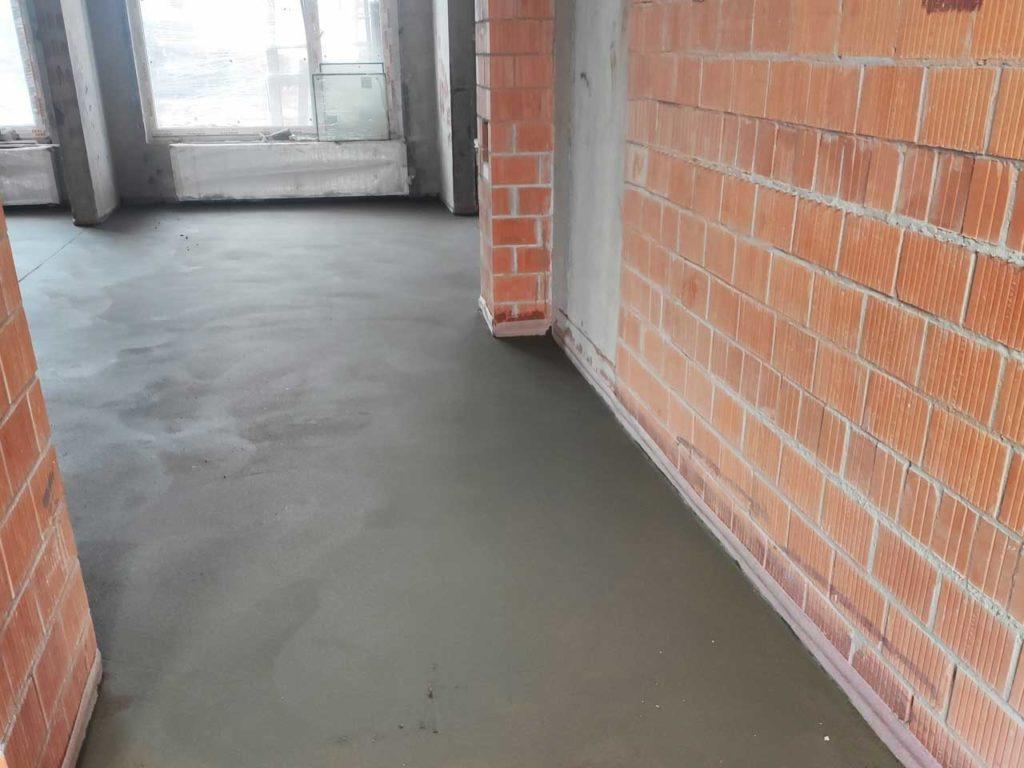 цементно песчаная стяжка в квартире